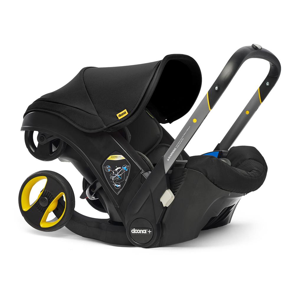 Автокресло Doona Infant Car Seat - Nitro Black - lebebe-boutique - 3