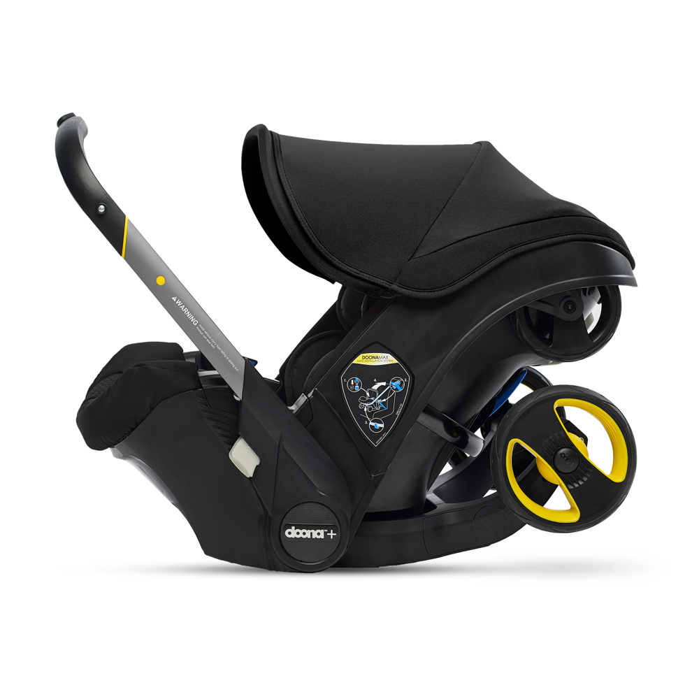 Автокресло Doona Infant Car Seat - Nitro Black - lebebe-boutique - 5