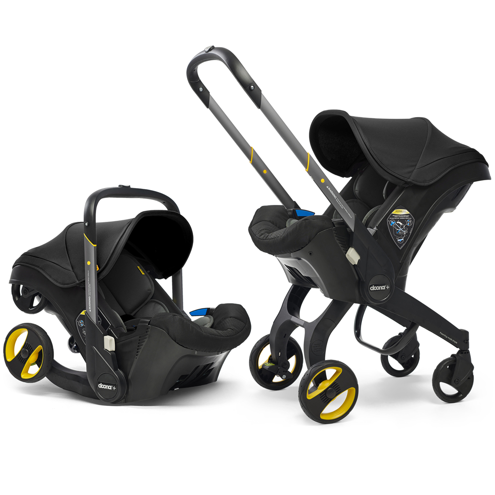 Автокресло Doona Infant Car Seat - Nitro Black - lebebe-boutique - 6