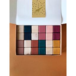 Деревянные кубики / Разноцветные SABO Concept