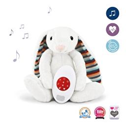 Музыкальная мягкая игрушка BIBI с белым шумом Кролик Zazu