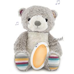 Комфортер для сна Zazu Медвежонок Bruno с успокаивающими мелодиями и записью голоса