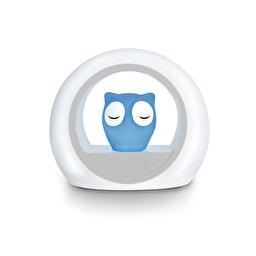 Нічник із звуковою активацією совеня LOU (синій) Zazu