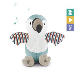 Мягкая игрушка с интерактивными хлопками и пением Тукан Timo Zazu