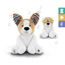 Мягкая интерактивная игрушка Дэнни PEEK-A-BOO с хлопающими ушами и пением Zazu
